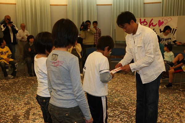 あしなが育英会訪問(2010)