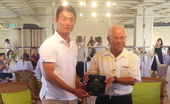 グアム日本人会名誉会員 授賞式
