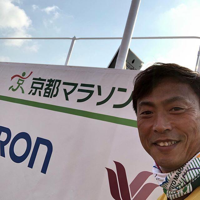 京都マラソン2019 頑張ります!
