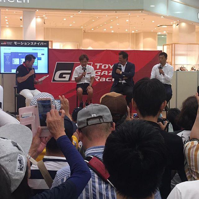TOYOTA GAZOO Racingトークショー