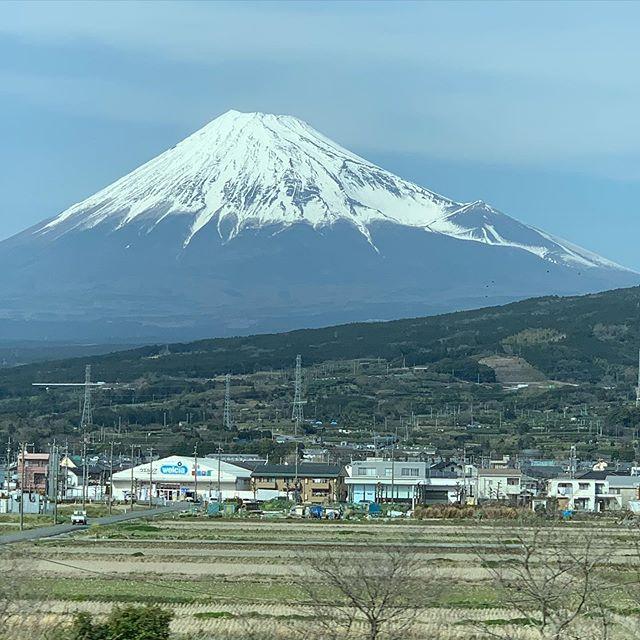 富士山を久々に見る事が出来ました